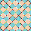 Vector clipart: flowerish mesh texture
