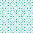 Vector clipart: flowerish seamless pattern
