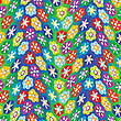 Vector clipart: flowers pattern