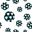 Vector clipart: football seamless pattern