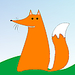Vector clipart: fox