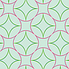 Vector clipart: geometric abstract seamless pattern 2 extended