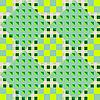 Векторный клипарт: зеленый ромбовидный паттерн