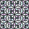 Vector clipart: geometric seamless pattern 3