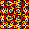 Vector clipart: geometric seamless pattern 4