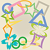 Vector clipart: geometric shapes