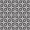 Vector clipart: gray seamless flowers texture