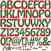 Векторный клипарт: буквы алфавита