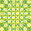 Векторный клипарт: зеленый бесшовный паттерн