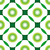 Vector clipart: green circles seamless pattern