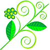 Векторный клипарт: зеленые листья
