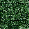 Векторный клипарт: зеленая бесшовная текстура