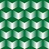 Векторный клипарт: зеленые кубы
