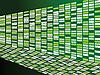 Векторный клипарт: зеленая стена