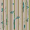 grunge green metallic stripes