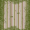 Векторный клипарт: гранж зеленые полосы