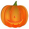Векторный клипарт: Хэллоуин тыква