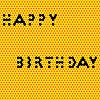 Векторный клипарт: с медовым днем рождения