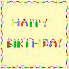 Векторный клипарт: С Днем Рождения