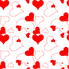 Vector clipart: heart pattern