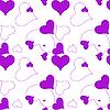 Векторный клипарт: фиолетовый фон из сердечек
