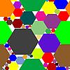 Векторный клипарт: паттерн из шестиугольников