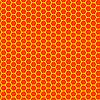 Векторный клипарт: мед воск бесшовная текстура
