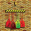 Vector clipart: jobs under construction