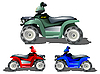Vector clipart: kids toy cars collection