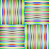 Vector clipart: lighted stripes 3