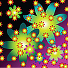 Vector clipart: little flowers