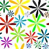 Vector clipart: little flowers seamless pattern