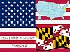 Maryland | Stock Vektrografik