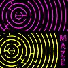 Vector clipart: maze composition
