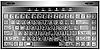 Vector clipart: media keyboard vector