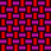 Векторный клипарт: красно-фиолетовая металлик-сетка