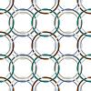 Vector clipart: metallic rings