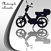 Vector clipart: motorcycle silhouette
