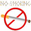 Vector clipart: no smoking sign