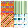 Vector clipart: stripe collection
