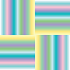 Vector clipart: pastel stripes extended