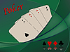 Vector clipart: poker cards composition