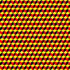 Vector clipart: psychedelic pattern black-red-yellow