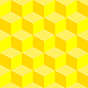 Vector clipart: psychedelic pattern mixed yellow