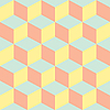 Vector clipart: psychedelic pattern pastel colors