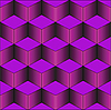 Vector clipart: purple stairs