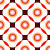 Vector clipart: red circles seamless pattern