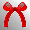 Vector clipart: red ribbon