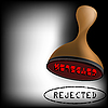 Vector clipart: rejected stamp