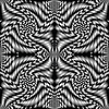 Vector clipart: retro spiral black texture